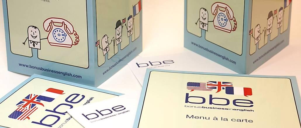 BBE leaflets design