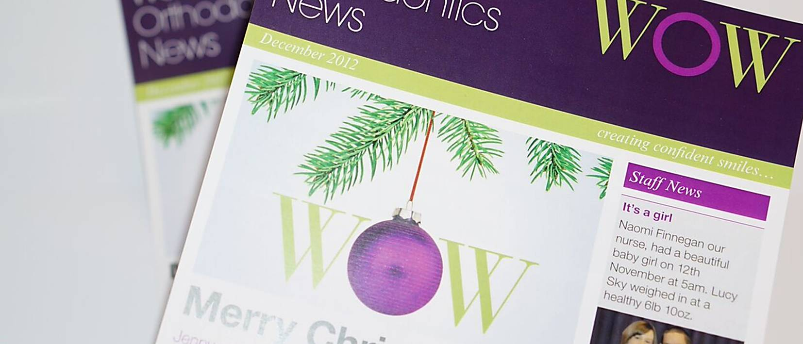 wow client news christmas