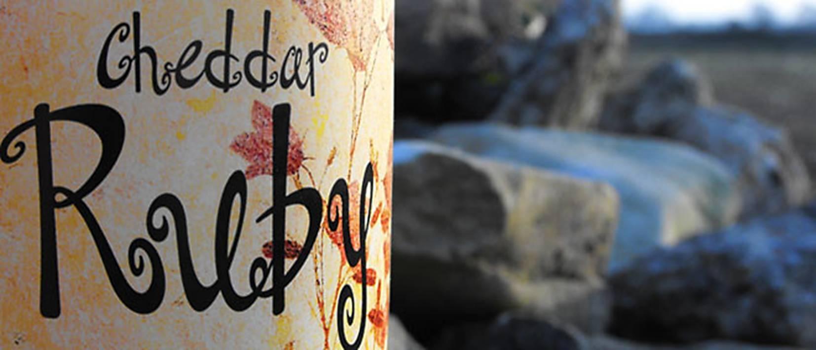 Cheddar Ruby Label