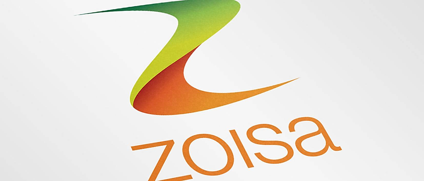 Zoisa logo printed on white