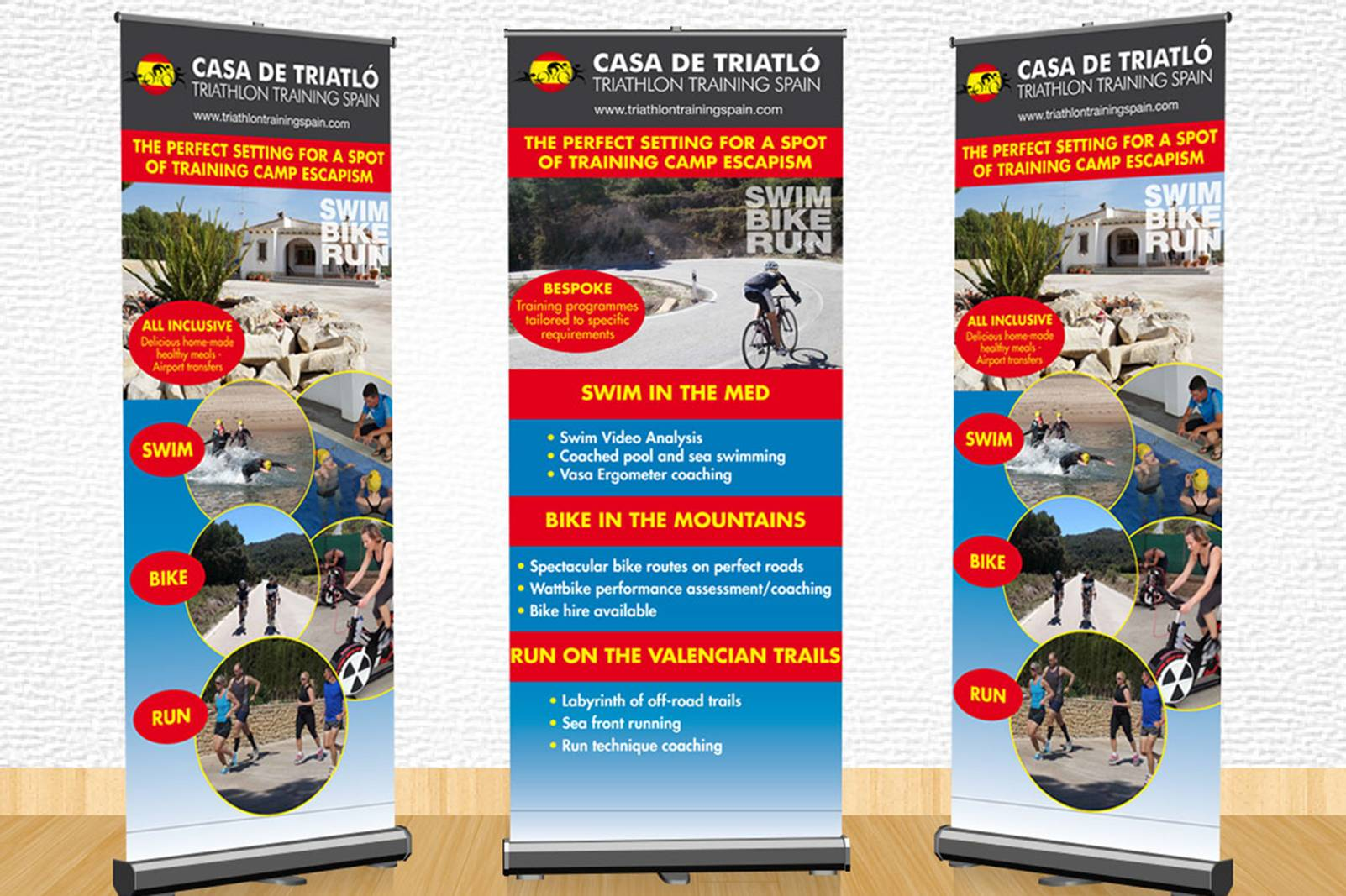 roll up banners for exhibitions