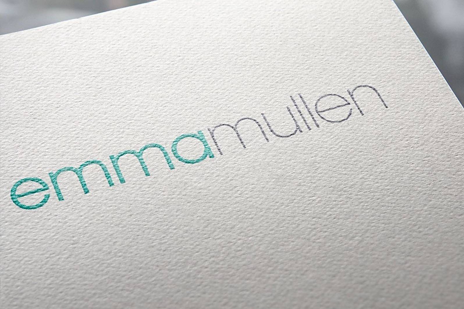 logo on paper