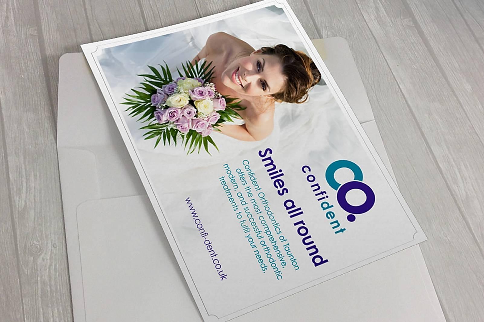 invitation and envelope design